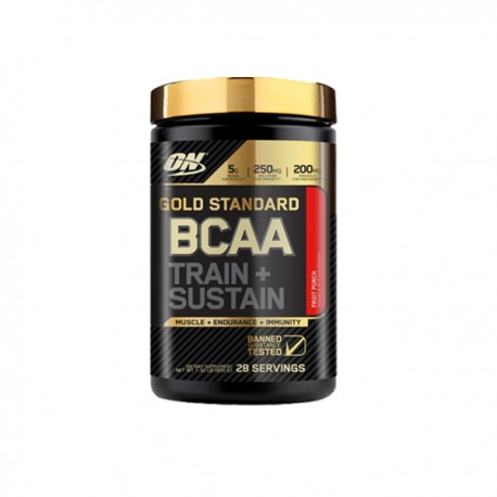 Bcaa Train + Sustain (266 gramos) Optimum Nutrition