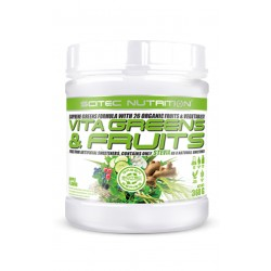 Vita Greens&Fruit Stevia (360 gramos) Scitec Nutrition