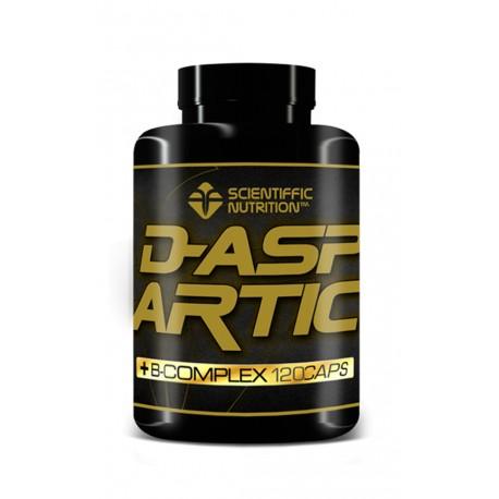 D-Aspsrtic (120 capsulas) Scientiffic