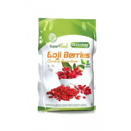 SuperFood Goji Berries (250 gr) Quamtrax