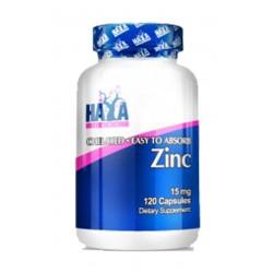 Zinc 15mg - 120 cápsulas