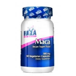 Maca -500 mg- (60 cápsulas vegetales) Haya Labs