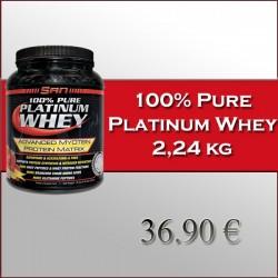 100 % Pure platinum whey (2,24 kg)