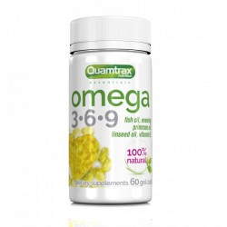 Omega 3-6-9 (60 gel capsulas) Quamtrax