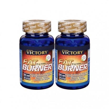 Pack Fat Burner (120 capsulas) Victory Endurance