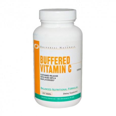Buffered Vitamin C (100 Tabletas)