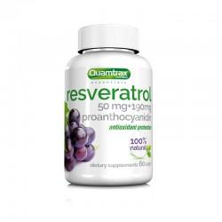 Resveratrol (60 cápsulas) de Quamtrax