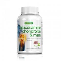 Glucosamine Chondroitin & Msm (90 cápsulas) de Quamtrax