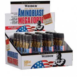 Amino Blast Mega Forte (25 ml) -20 Ampollas- de Weider