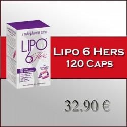 Lipo 6 Hers (120 Capsulas)