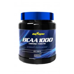 Bcaa 1000 (250 Tabletas / Masticables) Big Man