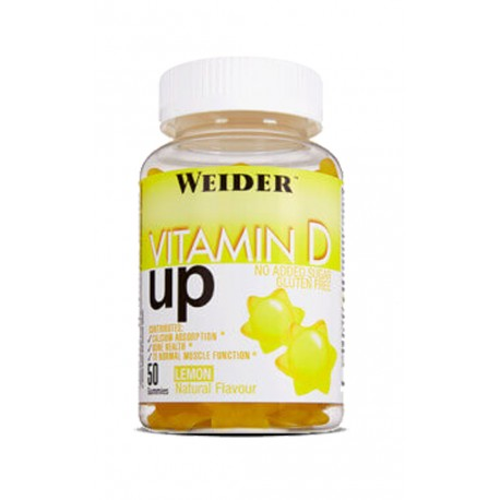 Vitamin D Up (50 gummies) Weider
