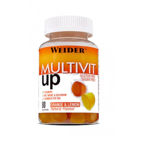 Multivit Up (80 gummies) Weider