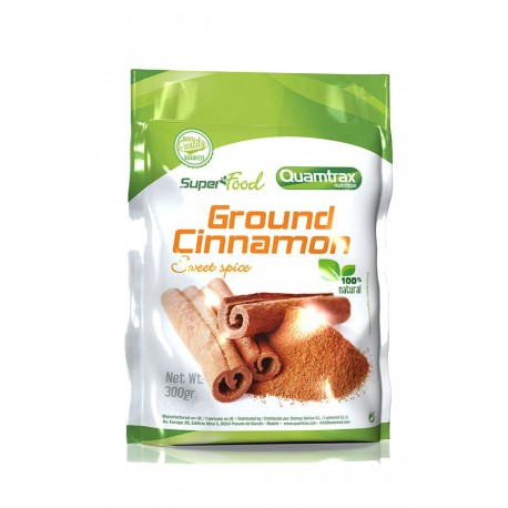 SuperFood Ground Cinnamon (300 gr) Quamtrax