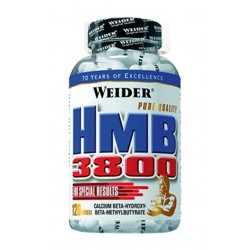Hmb 3800 (120 capsulas) Weider