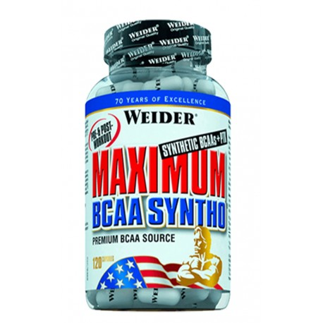 Maximum Bcaa Syntho (120 capsulas) Weider
