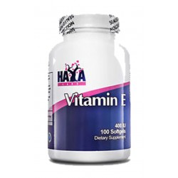 Haya Vitamina E (400UI- 100 softgels) Haya Labs