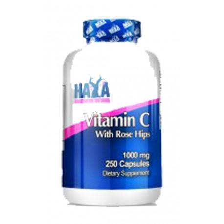 Vitamina C con Escaramujos 1000mg - 100 tabletas
