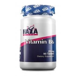 Vitamina B6 25mg - 90 tabletas - de Haya