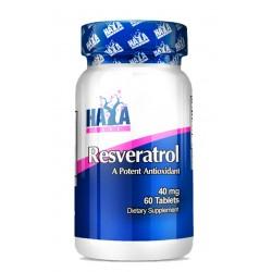 Resveratrol 40 mg -(60 tabletas)- de Haya Labs