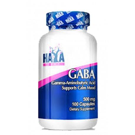 Gaba -500mg- (100 cápsulas) Haya Labs