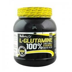 L-Glutamine 100% (500 Gramos) Biotech Usa