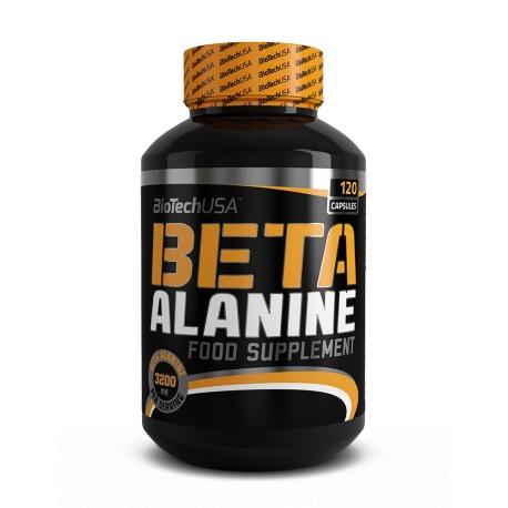 Beta alanine Biotech Usa (120 capsulas)