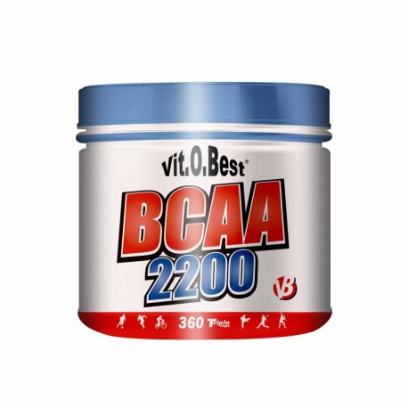 BCAA Mega Capsulas 2200 (360 Capsulas)