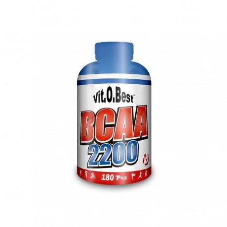 BCAA Mega Capsulas 2200 (180 Caps.)