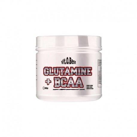 Glutamine + BCAA Complex (500 Gramos)