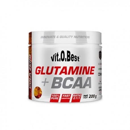 Glutamine y BCAA Complex (200 Gramos)