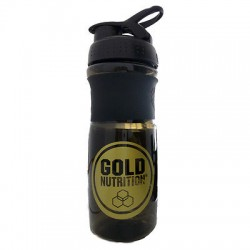 Mezclador Negro gold Nutrition (700 ml)