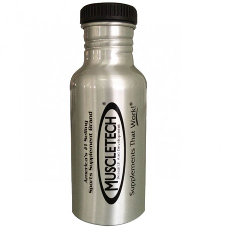 Botella Aluminio Muscletech (600 Ml.)