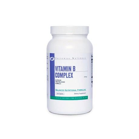 Vitamin B Complex (100 Tabletas)