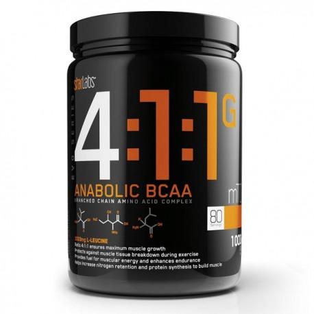 4:1:1 Anabolic Bcaa (200 Capsulas)