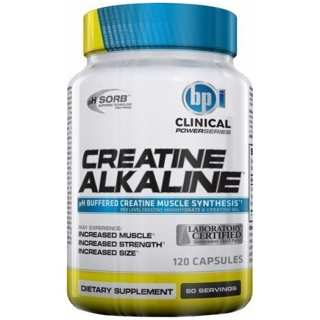 Creatine Alkaline Power Series (120 Capsulas)