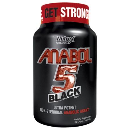 Anabol 5 Black (120 Capsulas)