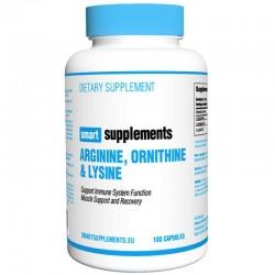 Arginine, ornithine y lysine (100 Capsulas)