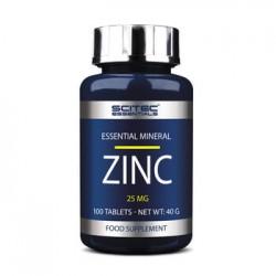 Zinc Scitec Essentials (100 Tabletas)