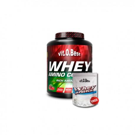 Whey Amino Complex (1,8 Kg) + De regalo Whey Protein 454 Gr.