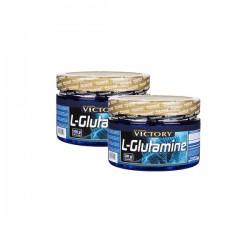 Pack L-Glutamine (300 gramos) Victory Endurance