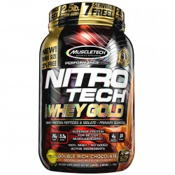 NitroTech 100% Whey Gold (2,7 kg)
