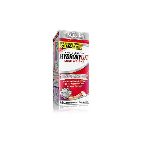 Hydroxycut pro clinical (72 tabletas) MUSCLETECH