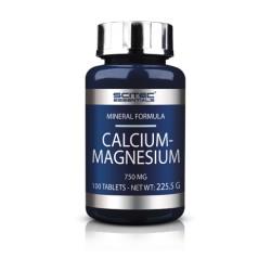 Calcium-Magnesium (100 tabletas) de Scitec Essentials