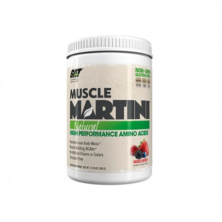 Muscle Martini Natural (345 gramos) de GAT