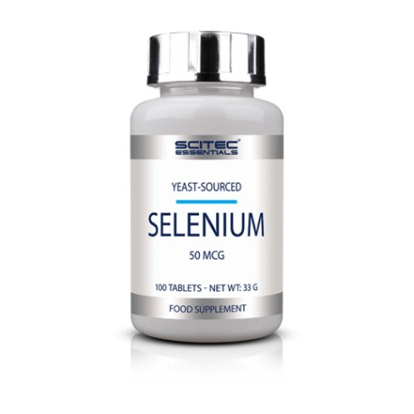 Selenium (100 tabletas) de Scitec Essentials