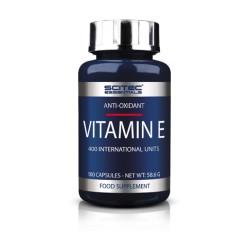 Vitamin E (100 cápsulas) de Scitec Essentials