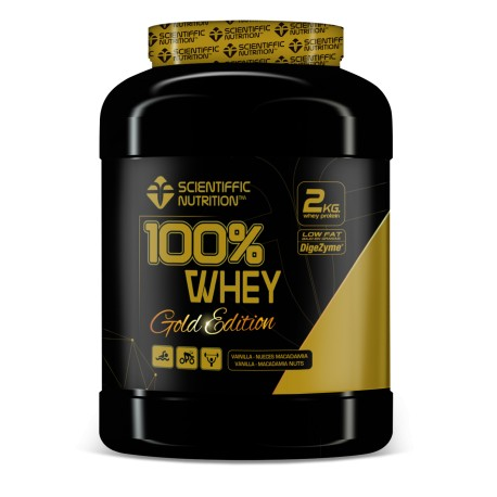 100% Whey Gold Edition (2 kg) Sientiffic Nutricion
