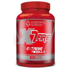 X7 Fire (100 Cápsulas) Scientiffic Nutrition