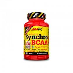 Synchro BCAA + Sustamine (120 tabletas) AMIX NUTRITION